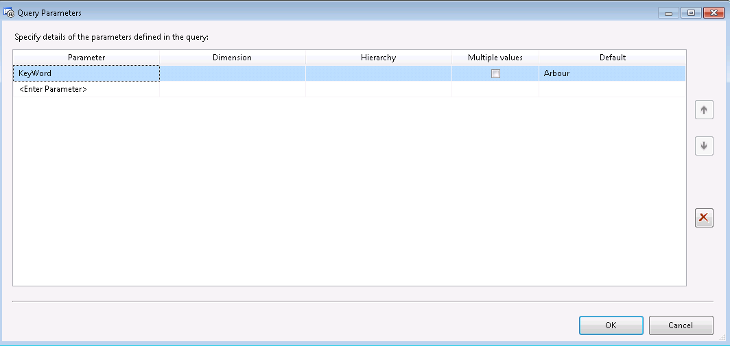 How to solve long drop-down list issue in MDX based SSRS